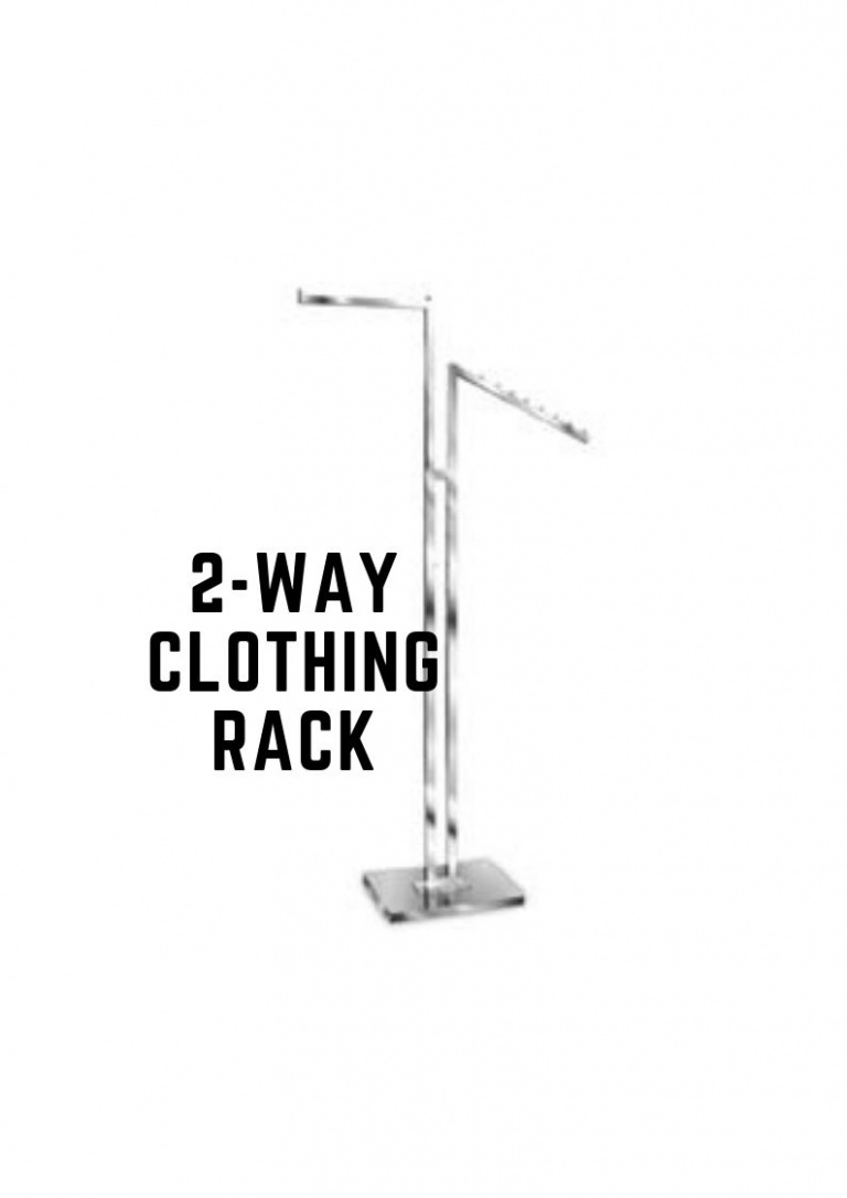 2-Way Clothing Rack (1)
